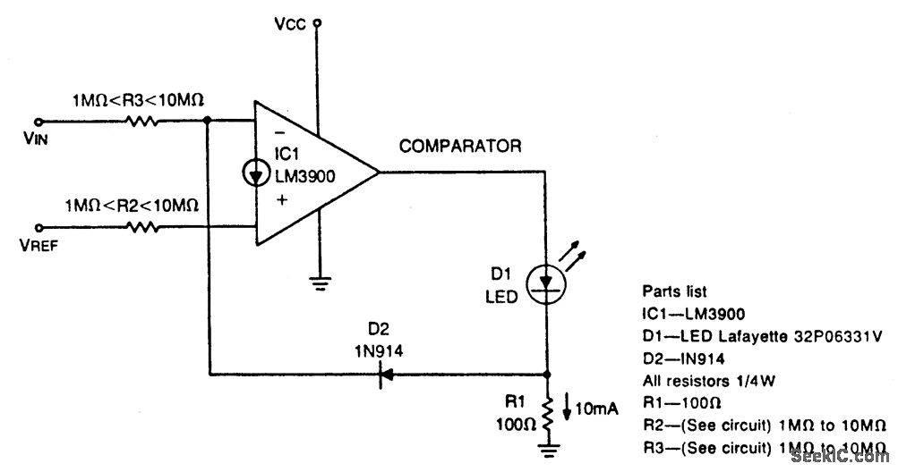 Компаратор напряжения: как работает и примеры схем