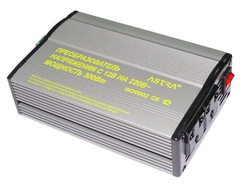 Преобразователь напряжения 12-220 (инвертор). виды и параметры