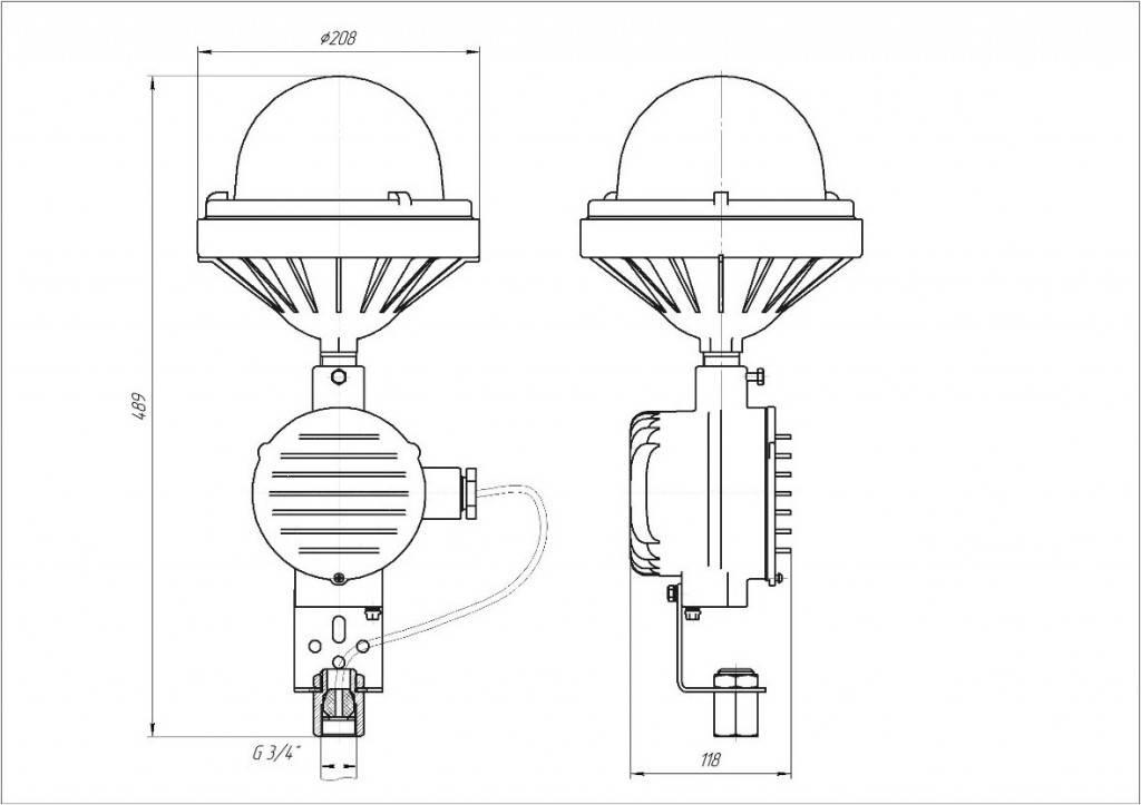 Чем пожаробезопасные светильники отличаются от взрывозащищённых и обычных промышленных