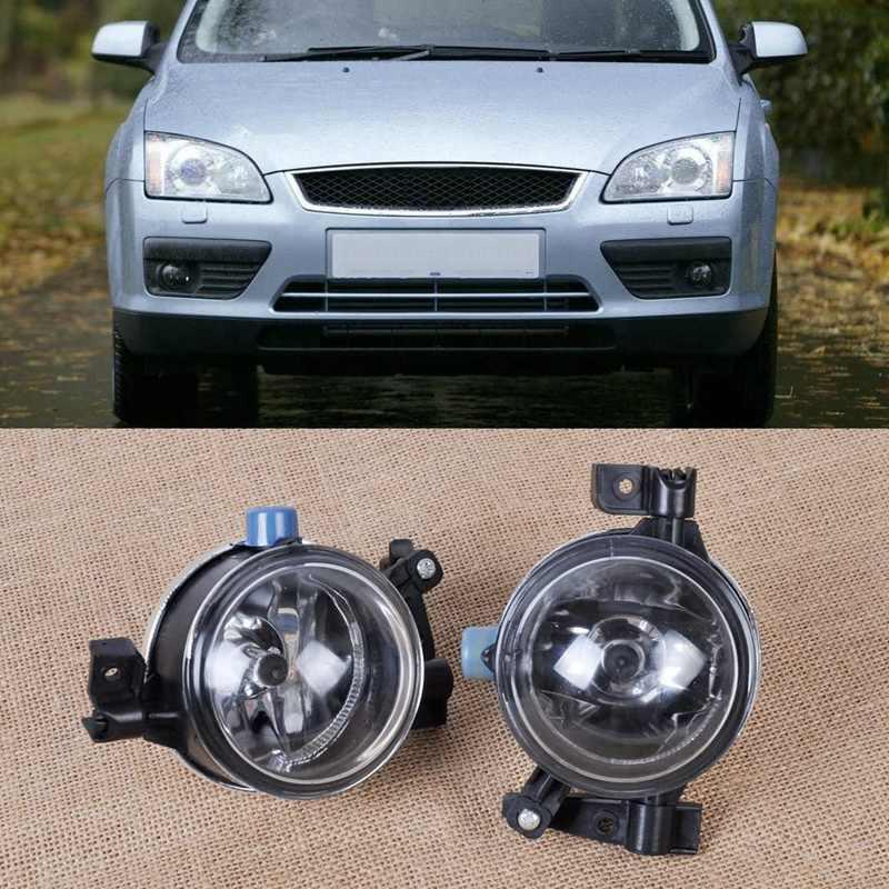 Как поменять лампочки в противотуманках ford focus 2 до рестайлинга и после?