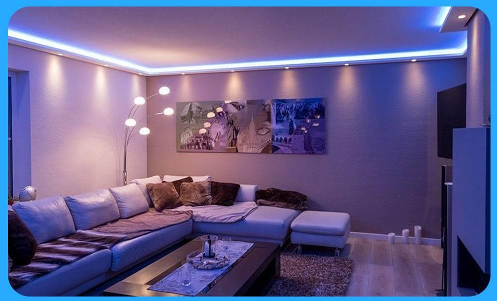 Умное освещение в доме: возможности, преимущества и недостатки