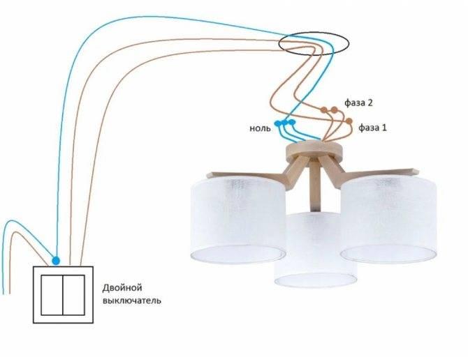 Как подключить люстру или как повесить люстру своими руками