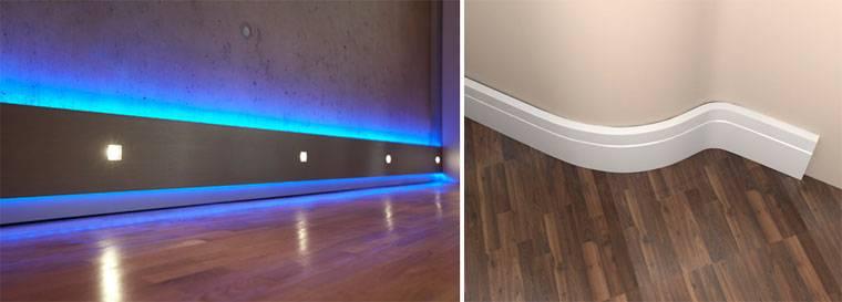 Как из обычного плинуса сделать светодиодную подсветку коридора на датчике движения