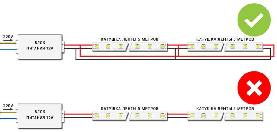 2 способа - как подключить светодиодную ленту к батарейке. без пайки и с пайкой.
