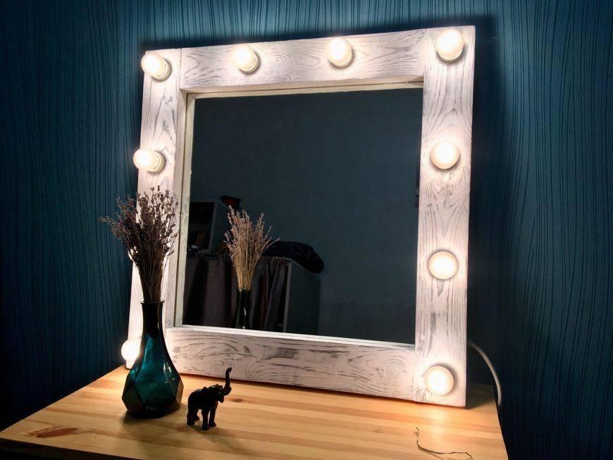 Простая инструкция, как сделать гримерное зеркало своими руками за копейки - мечта любой женщины!