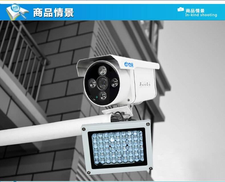 Зачем нужны ик прожекторы для видеонаблюдения?