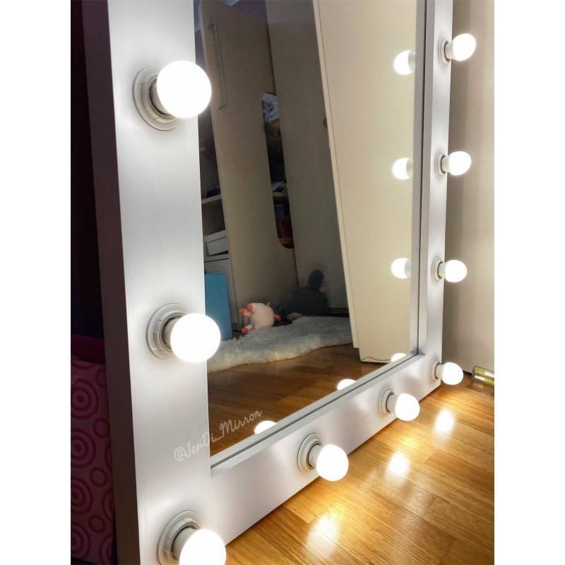 Зеркало с подсветкой своими руками. гримерное зеркало с лампочками своими руками. изготовление зеркала для макияжа с подсветкой своими руками