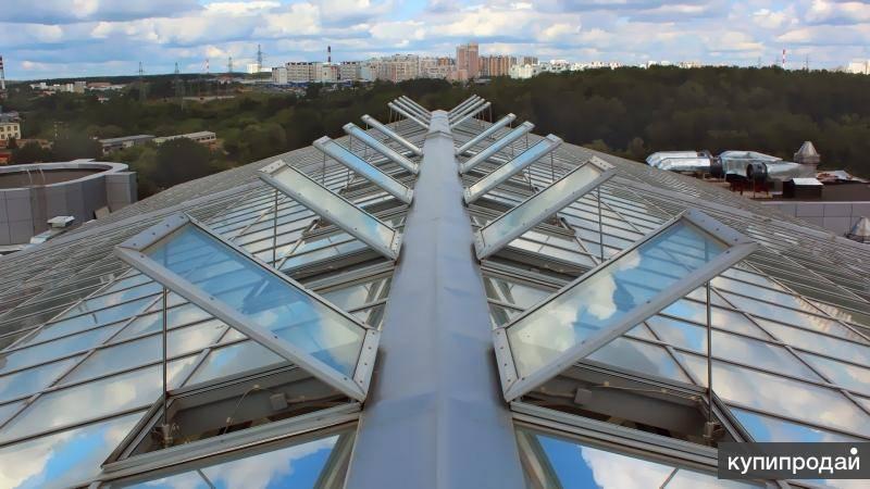 Зенитные фонари промышленных зданий: виды конструкций