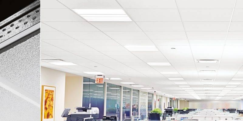 Светильники для потолка армстронг - варианты светильников
