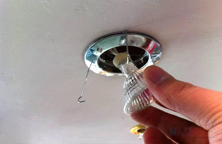 Установка люстры на натяжной потолок: способы крепления и инструкция по монтажу