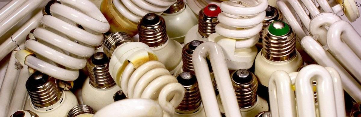 Утилизация люминесцентных, энергосберегающих ламп, дрл