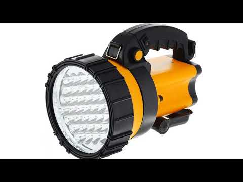 Как выбрать лучший светодиодный аккумуляторный прожектор: виды, классификация, важные критерии при подборе, обзор 7 популярных моделей, их плюсы и минусы