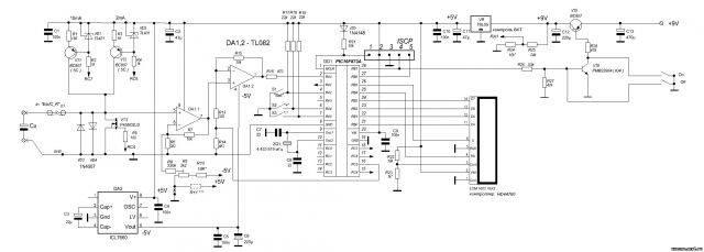 Измерение esr конденсаторов своими руками