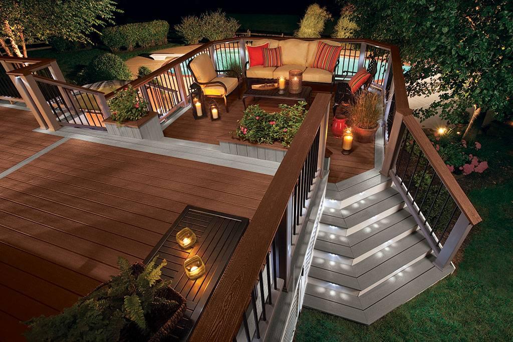 Подсветка частного дома снаружи — как правильно сделать