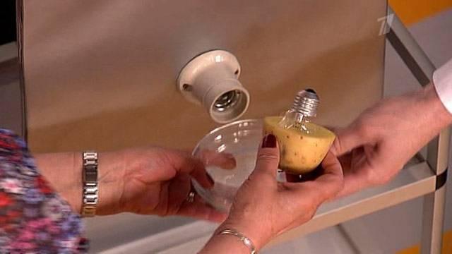 5 простых способов выкрутить лопнувшую лампочку из патрона