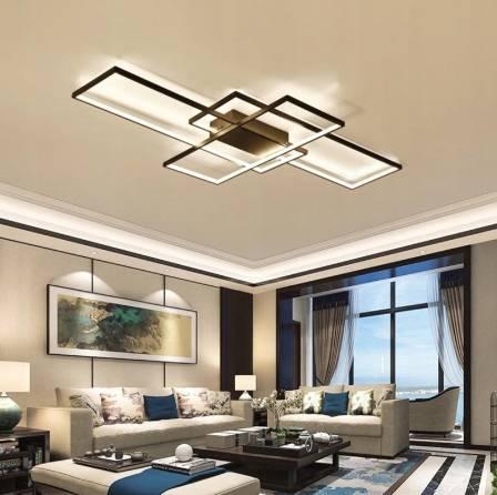 Как выбрать люстру в гостиную, критерии выбора: размер, мощность, стиль - 16 фото
