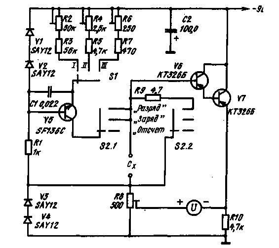 Как мультиметром проверить конденсатор на микрофарады?