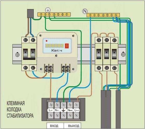 Стабилизатор напряжения 220в для дома своими руками — схема