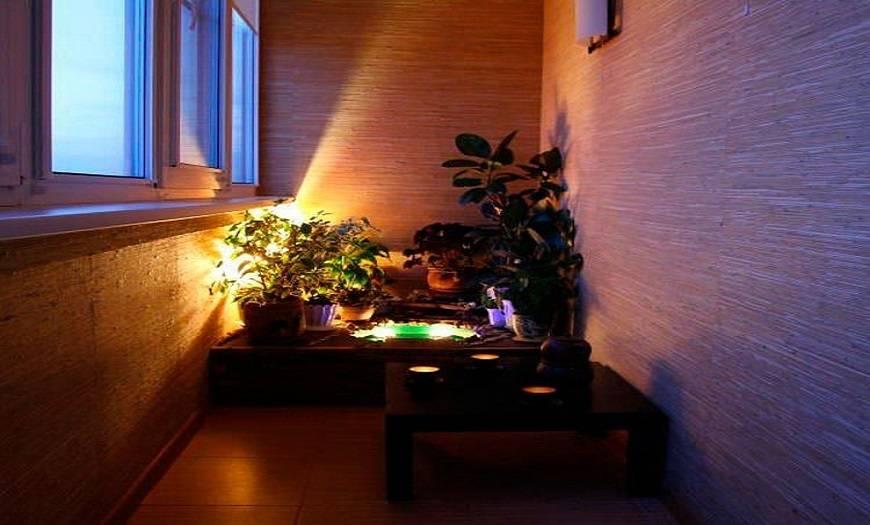 Как на балкон провести свет и сделать освещение, светильники на балкон фото галерея