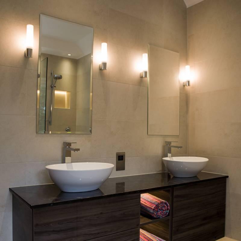 Как выбрать бра для ванной комнаты, на что обратить внимание