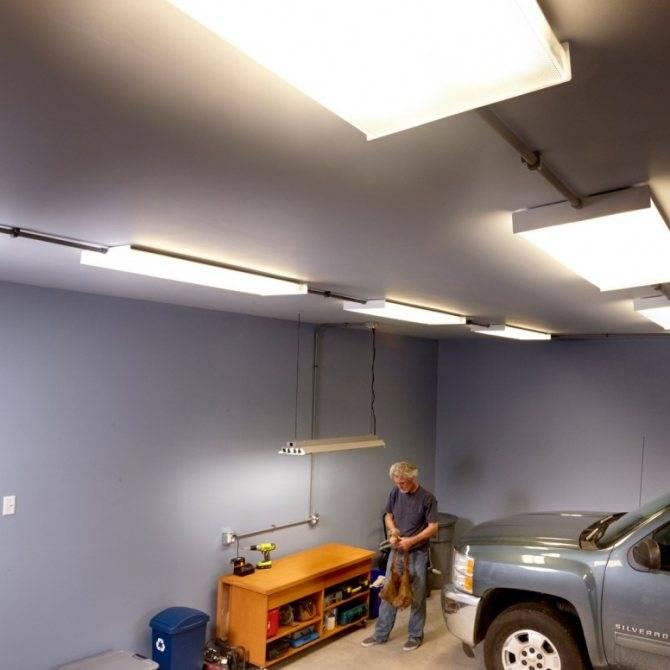 Как выбрать светодиодные светильники для гаража: плюсы и минусы