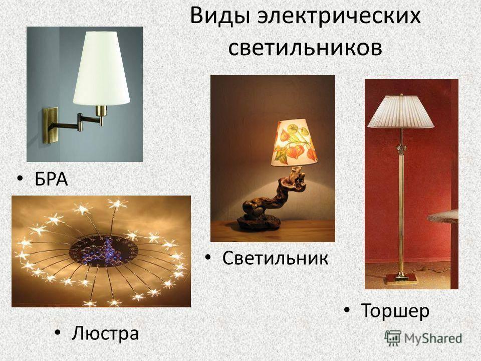 Классификация светильников с примерами | блог салона света на малой ордынке