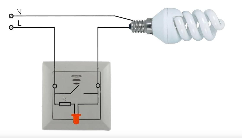 Почему светодиодная лампа светится после выключения: возможные причины
