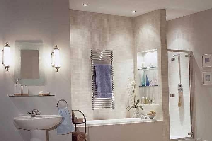 Какие светильники выбрать для ванной комнаты?