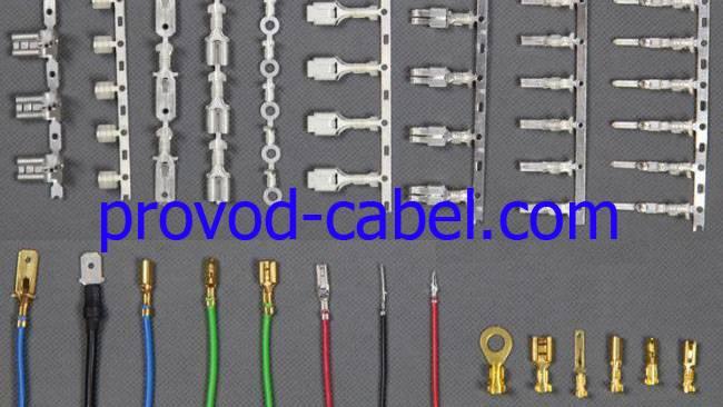 Типы кабельных наконечников для проводов и особенности опрессовки