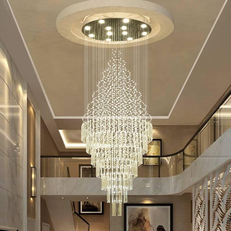 Люстры и светильники для высоких потолков - как правильно выбрать?