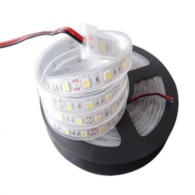 Схемы подключения светодиодной ленты на 220в
