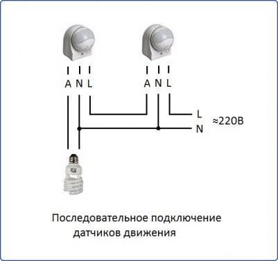 Подключение датчика движения с выключателем: 5 советов