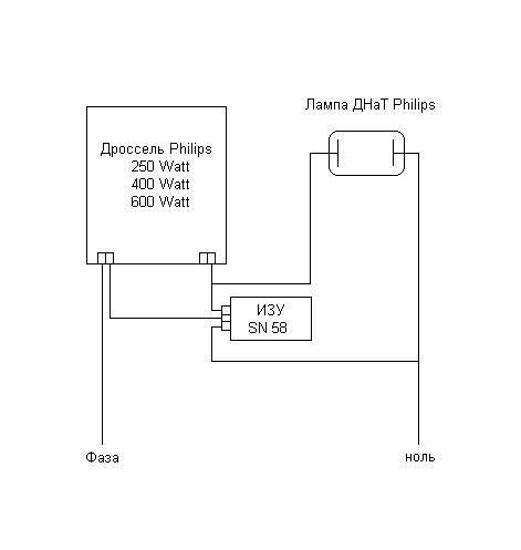 Натриевая лампа: устройство, принцип работы, как подключить