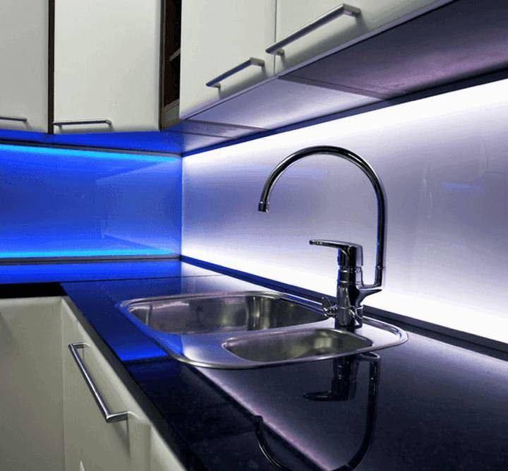 Светодиодная подсветка для кухни: схема подключения своими руками