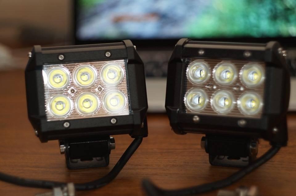 Что будет за светодиодные лампочки в фарах 2021