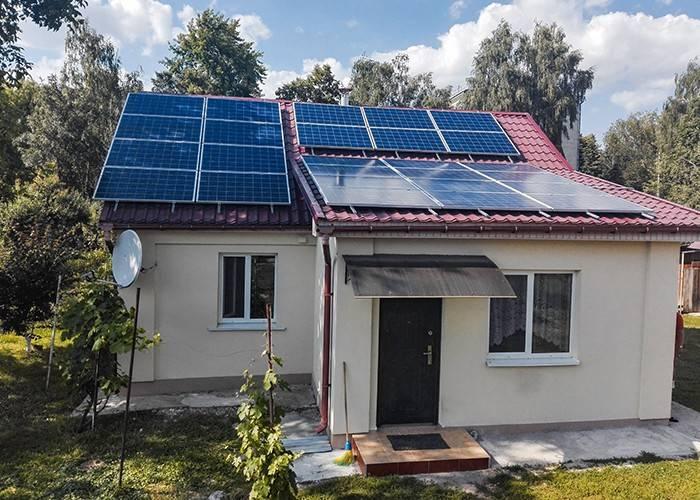 Солнечные батареи для дома — схема оборудования, расчет стоимости комплекта