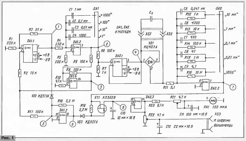 Емкость конденсатора: определение, формулы для вычисления, примеры, как измерить