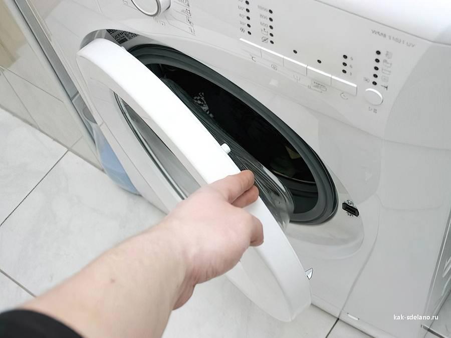 Можно ли самостоятельно открыть стиральную машинку, если она заблокирована