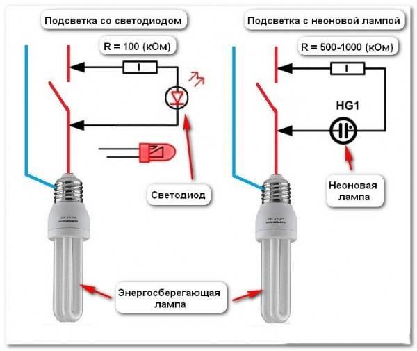 Почему моргает светодиодная лампочка при выключенном свете: как исправить