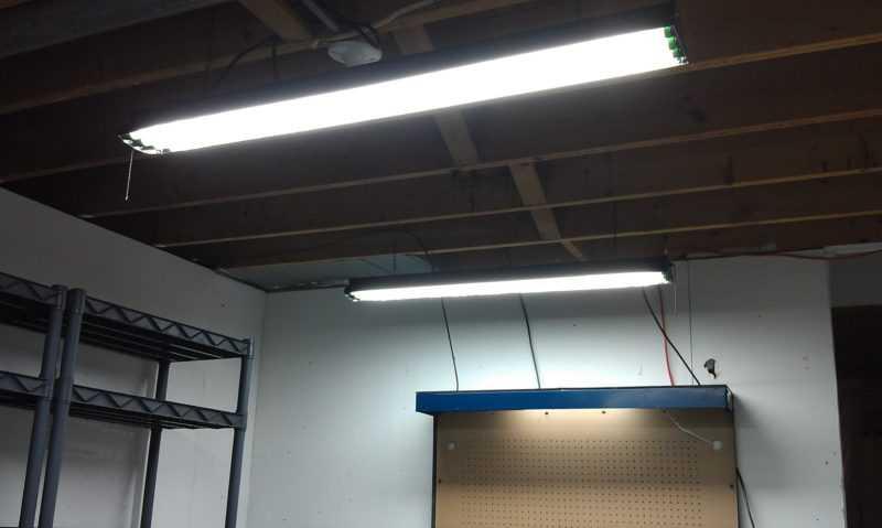 Освещение в гараже своими руками: какие лампы выбрать, расчет