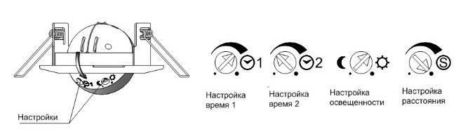 Датчик движения для включения света: виды: схема подключения