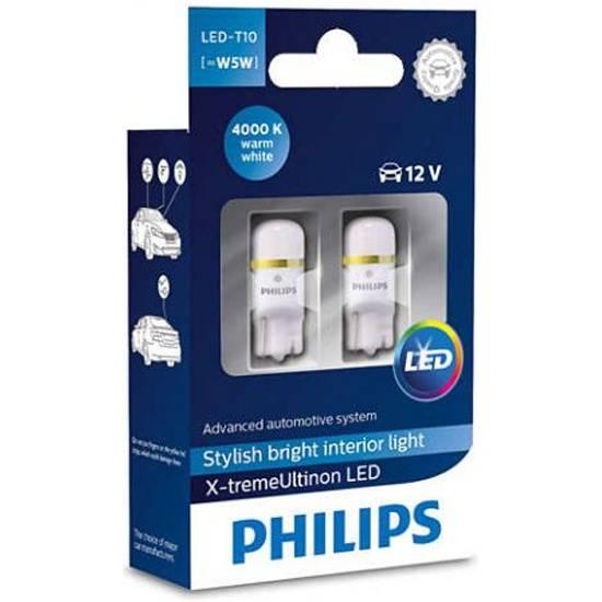 Топ w5w ламп (светодиодные, для габаритов, бесцокольные): philips, osram и другие