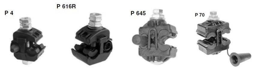 Зажим для сип кабеля - виды, конструкция и установка