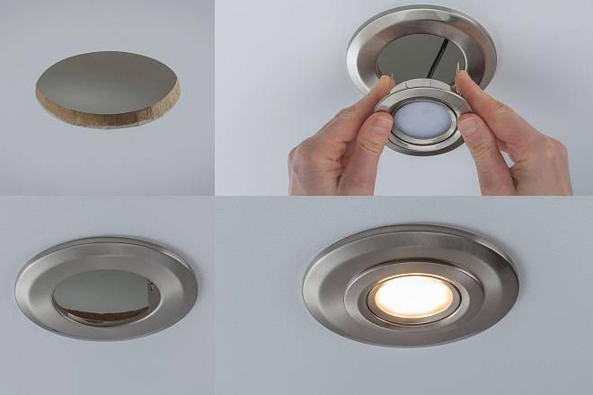 Как поменять светодиодную лампу в натяжном потолке: инструкция и полезные советы