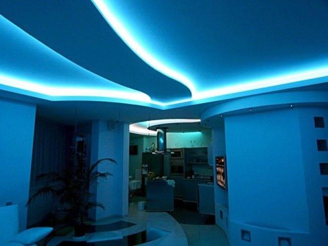 Освещение без люстры: виды дополнительной подсветки и особенности для разных комнат