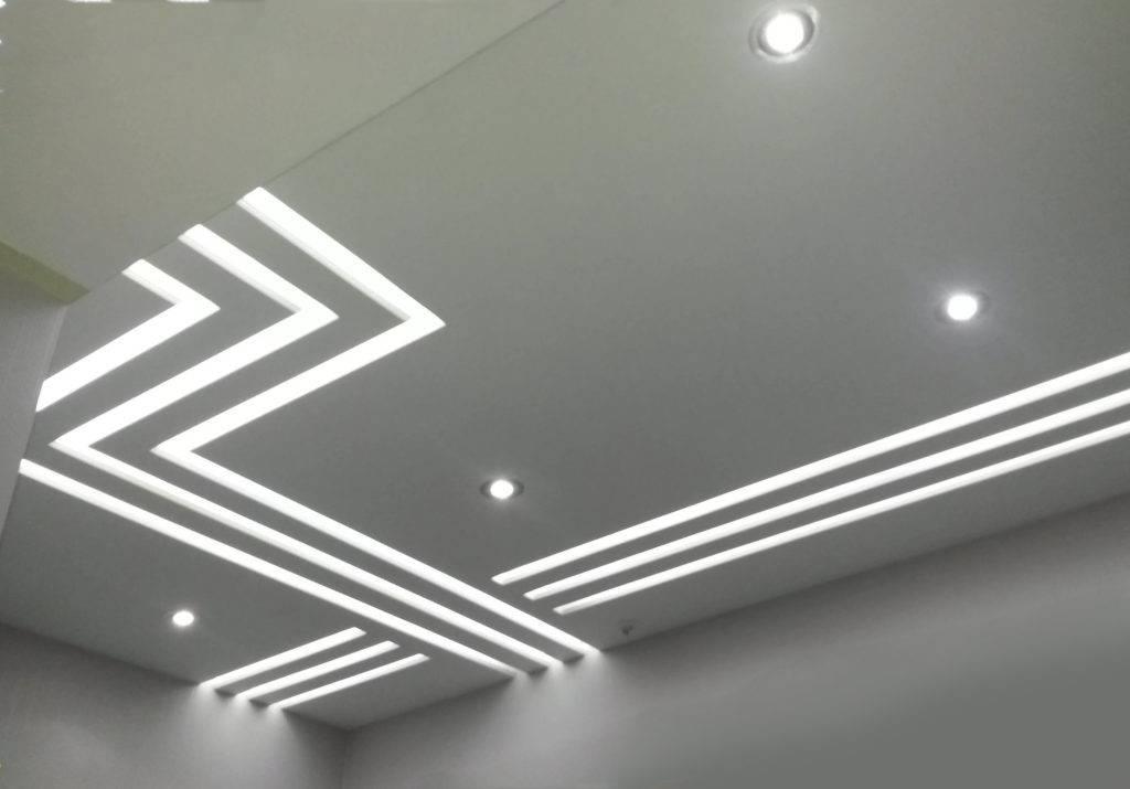 Светодиодная подсветка в натяжном потолке: выбор, способы монтажа