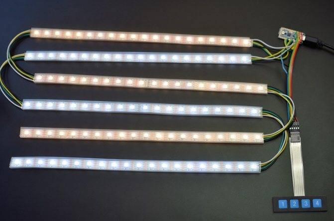 Как сделать светильник из светодиодной ленты — 3 способа.