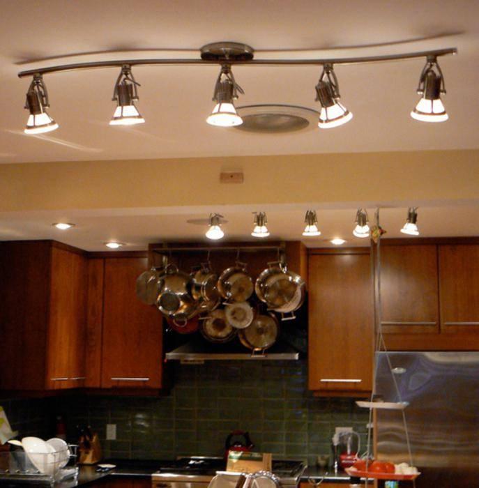 Какой выбрать на кухню светильник: советы