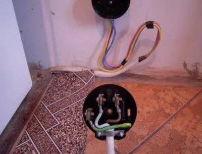 Какой кабель нужен для подключения электрической плиты