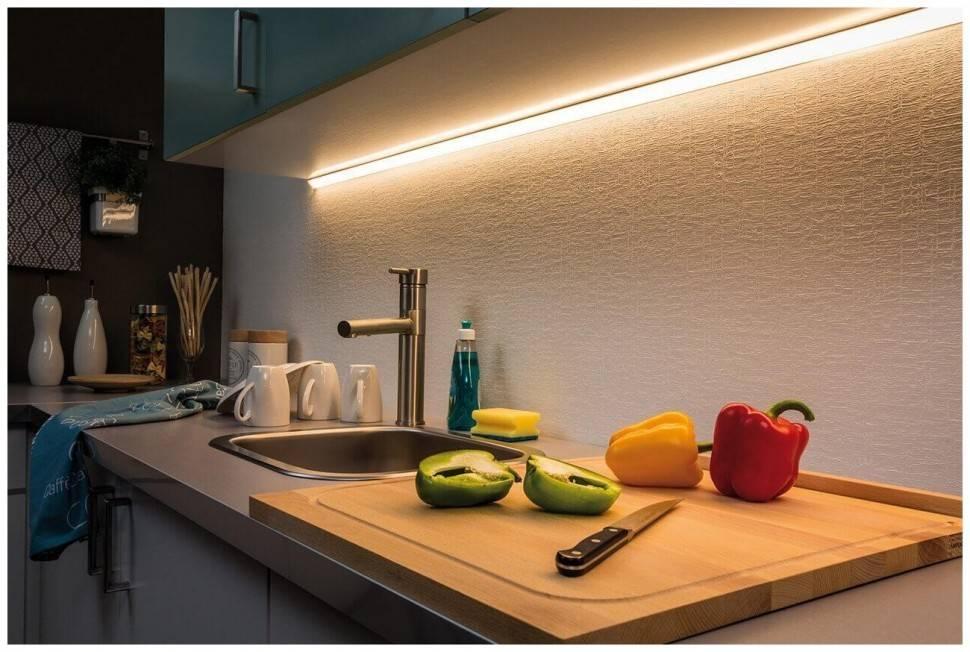 Грамотная организация освещения на кухне